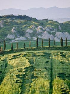 Le Crete Senesi, Tuscany, Italy