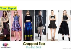 Cropped Top #Fashion Trend For Pre-Fall 2014 #Crop #PreFall2014 #FashionTrends2014