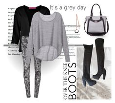 """It's a grey day"" by culimanna on Polyvore featuring moda, STELLA McCARTNEY, Boohoo, McQ by Alexander McQueen, J. Furmani, Victoria's Secret e PESAVENTO"