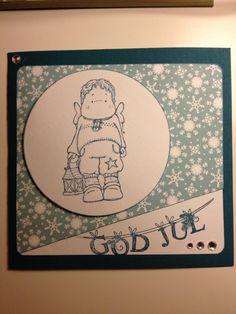 Scrapbooking card god jul