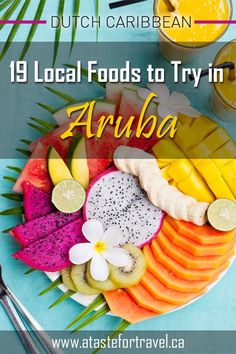 Don't miss out on the best food in Aruba on your next vacation! Discover what to eat in Aruba with this complete culinary travel guide to the best traditional food on One Happy Island. You'll also learn about the best restaurants for local specialties Caribbean Recipes, Caribbean Food, Aruba Food, Food Truck Festival, Travel Ideas, Travel Advice, Budget Travel, Travel Tips, Food Inspiration