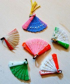 Vintage 1960's Dime Store Mini Fans2 | Flickr - Photo Sharing!