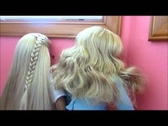Preventing Frizzy Doll Hair!