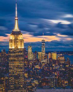 Empire State Building, New York City, New York USA