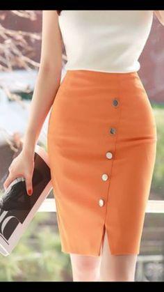 Waist Skirt, High Waisted Skirt, Fashion, Blouses, Moda, High Waist Skirt, Fashion Styles, Fashion Illustrations