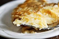 A good Scalloped Potatoes recipe makes one of those essential side dish recipes that just makes everything seem so elaborate and elegant. But the truth of the matter is, they really couldn't be simpler to make. // addapinch.com