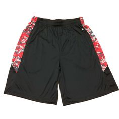 Red Badger Big Boys Elastic Waistband Track Shorts Large