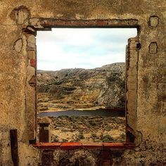 Abandoned open-pit mining in La Union, Spain #timelapse #timelapsevideo #openpit #launion #spain #window www.albertoexposito.net Time Lapse Photography, Abandoned, Spain, Window, World, Nature, Photos, Travel, Left Out