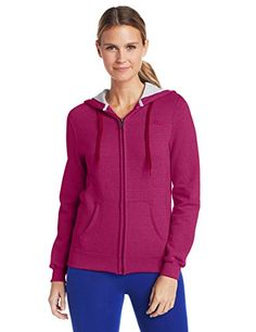 Champion Women's Full-zip Eco Fleece Jacket Hoodie ** Click on the image for additional details.