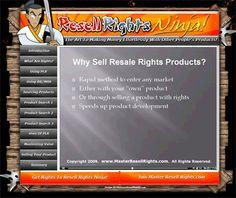 Resell Rights Ninja - The Art Of Effortless Money!