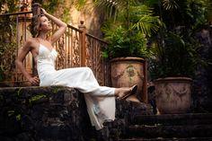 sea shell wedding dress