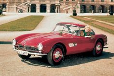 1957 BMW 507 — Only 252 of these roadsters were built, and BMW may have gone broke if it had built more.