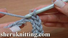 CRCOHET BASICS Tutorial 10. http://sheruknitting.com/videos-about-knitting/crochet-for-beginners/item/183-crochet-basics.html   In this tutorial for beginners you will learn how to make a slip stitch. We will show you how to work this stitch through chain stitch in 2 ways: first through the back loops of chain stitch and then through 2 loops (back loop and bottom loop).