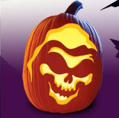 FREE Halloween Pumpkin Carving Templates!