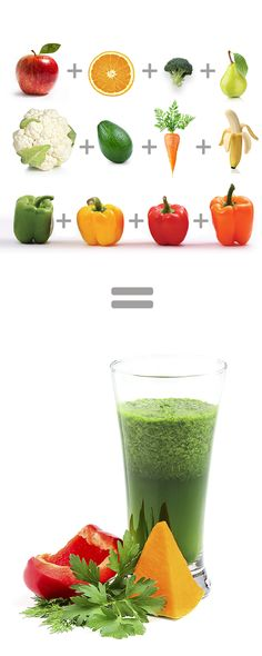 Get Up To 12 Servings of Fruit and Vegetables In Just One Serving