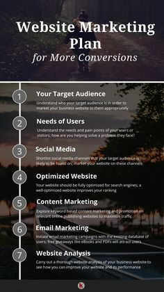 SEO Marketing Digital How to do Website Marketing for More Conversions! 7 Effective Website Marketing Strategies to Increase Conversions Affiliate Marketing, Marketing Plan, Marketing Tools, Content Marketing, Internet Marketing, Online Marketing, Social Media Marketing, Mobile Marketing, Inbound Marketing