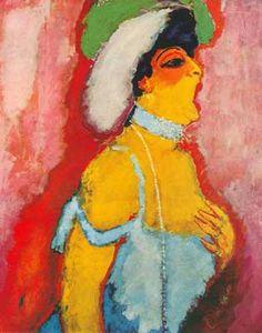 Kees van Dongen, The Soprano Singer Fine Art Reproduction Oil Painting