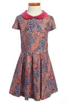 Oscar de la Renta Cap Sleeve Party Dress (Toddler Girls, Little Girls  Big Girls) available at #Nordstrom