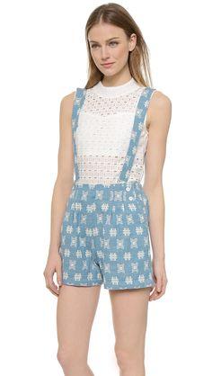 ace&jig Denim Mosaic Sailor Shorts | Shopbop