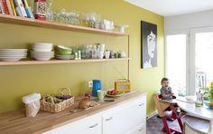kleur voor de keuken ... check!