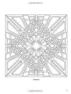 Sacred Yantra Coloring Book (Dover Design Coloring Books): Wil Stegenga: 9780486470818: Amazon.com: Books