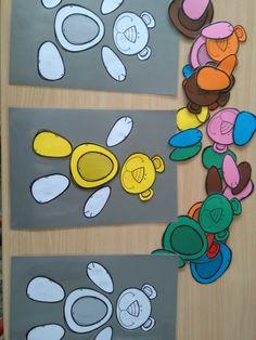 Zelf beren maken, met dezelfde kleur of verschillende kleuren *liestr*