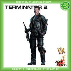 Hot Toys - Terminator 2 figurine DX Battle Damaged 32 cm (Arnold Schwarzenegger) - x x inches - pounds (Toys & Games) Judgement Day Terminator, Terminator 2, King Kong, Os Goonies, Hero Movie, Movie Props, Sideshow Collectibles, Arnold Schwarzenegger, Gifts For Teens