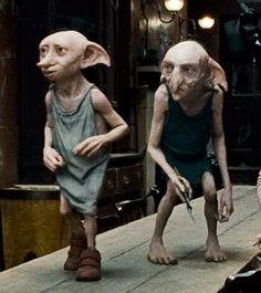 Dobby and Kreacher.