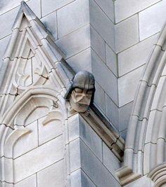 Darth Vader gargoyle, Washington National Cathedral
