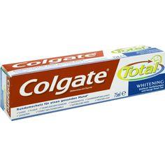COLGATE Total Plus Whitening Zahnpasta:   Packungsinhalt: 75 ml Zahnpasta PZN: 02417715 Hersteller: CP GABA GmbH Preis: 2,92 EUR inkl. 19…