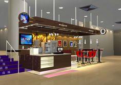 Mall Food Kiosk Design For Juice,Yogurt Selling - Buy Juice Kiosk ...