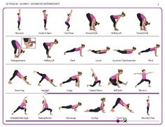 Advanced 45 minute yoga sequence