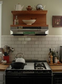 kitchen subway tiles