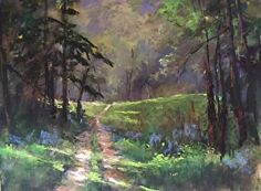 End Of The Road by LaVone Sterling Pastel ~ 12 x 16