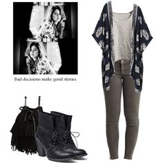 Malia Tate - tw / teen wolf by shadyannon on Polyvore featuring Tractr, Steve Madden and MANGO