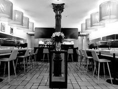 1350 Brasserie-Bar, arthotel Blaue Gans, Salzburg, Austria Places Ive Been, Salzburg Austria, Travelogue, Table, Furniture, Home Decor, Blue, Pictures, Decoration Home