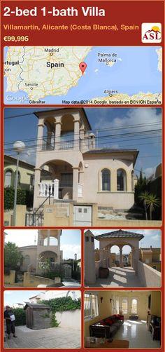 2-bed 1-bath Villa in Villamartin, Alicante (Costa Blanca), Spain ►€99,995 #PropertyForSaleInSpain