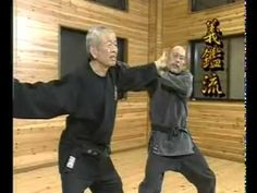 Hatsumi Bujinkan.. last living ninja to go through the traditional right of passage as a ninja.. if interested look it up.. its fascinating stuff. i studied this art myself and i love it!