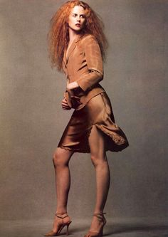 Nicole Kidman for VOGUE Italia, 1995
