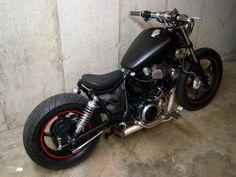virago 750 bobber Yamaha Virago, Virago 125 Bobber, Virago 535, Honda Bobber, Bobber Bikes, Bobber Motorcycle, Bobber Chopper, Motorcycle Clubs, Triumph Bikes