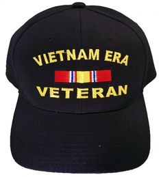 Vietnam ERA Veteran Cap and BCAH Bumper Sticker Embroidered Mens Military  Hat Vietnam ERA Reg BLACK CK129I6DWFX 955ecdc30853