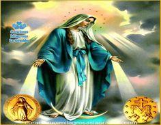 Oración a la Virgen de la Medalla Milagrosa para pedir un gran Favor ¡Oh María…