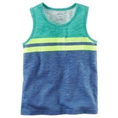 New JUMPING BEANS Girls Shirt Size 3 6 9 months WATERMELON Sleeveless Top Cotton