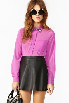 Stud Muffin Blouse
