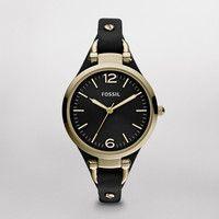 FOSSIL® Watch Styles Georgia Leather Watch