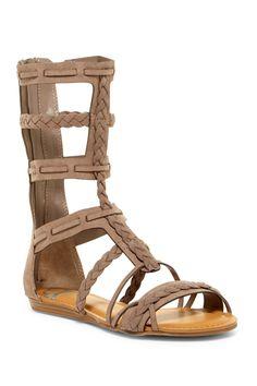 9f3bee1a6d2 Women s A2 by Aerosoles Mayor Heeled Gladiator Sandals - Tan 9 ...