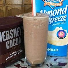 Low-Carb Chocolate Peanut Butter Smoothie** - Allrecipes.com