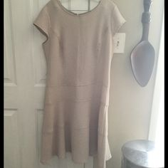 Cream Colored Midi Dress Cream Colored Midi Dress, light weight material, true to size, modest fit, great condition, Smoke/Pet Free Home. Dresses Midi