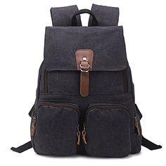 Hotoop Unisex Leisure Canvas Backpacks (Ash black) Hotoop http://www.amazon.com/dp/B012NBHOCU/ref=cm_sw_r_pi_dp_OH4.vb0TPGWZ4