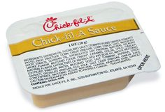 Chick-fil-a Sauce recipe  -½ cup kens honey mustard dressing (no brand substitutions or lite versions here, it makes a difference)  -1 teaspoon barbecue sauce (this doesn't matter so much so long as its some smoky flavor)  Directions:  Mix and chill.